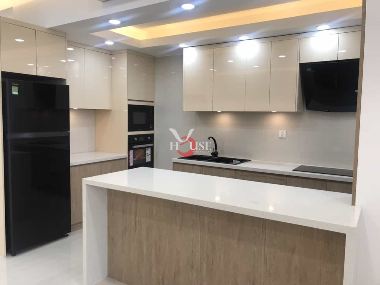 Apartment for rent in riverpark residence phu my hung