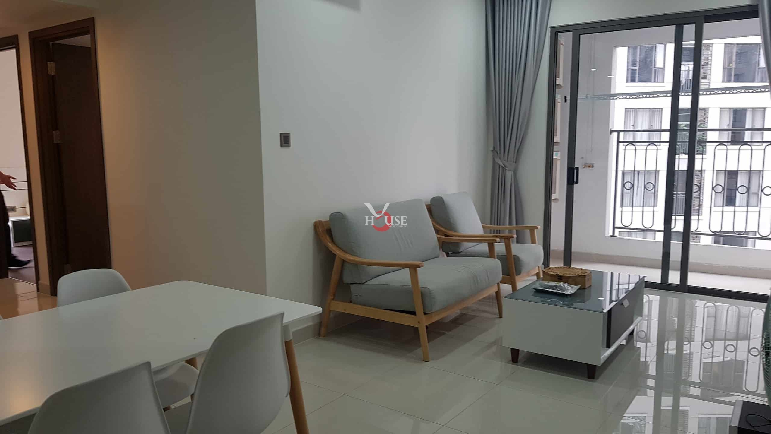 Condo For Rent At Saigon Royal District 4 2 Bedrooms Swimming Pool View
