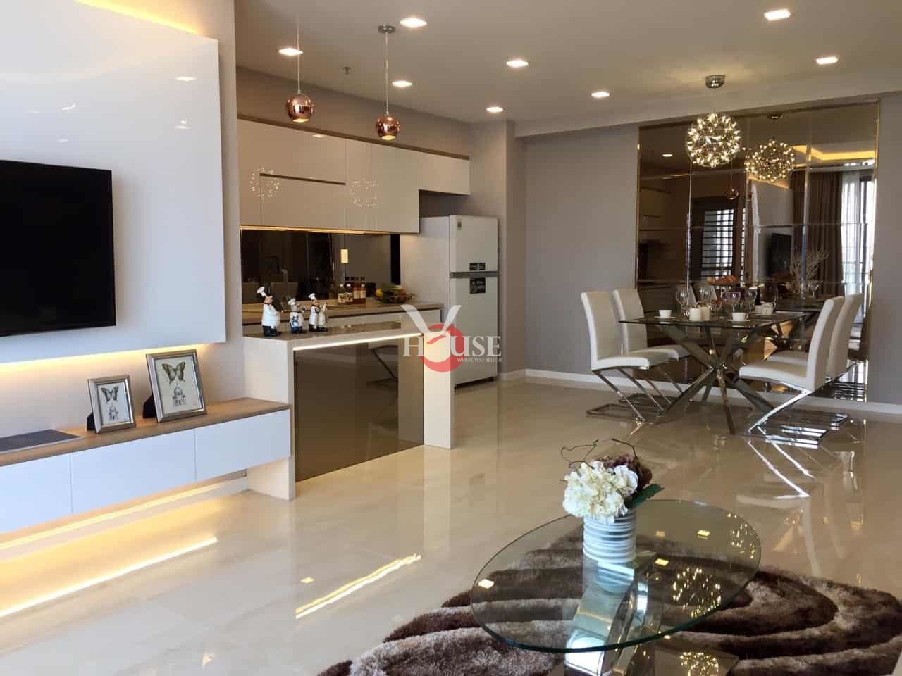 Nice Apartment For Rent In Green Valley Phu My Hung