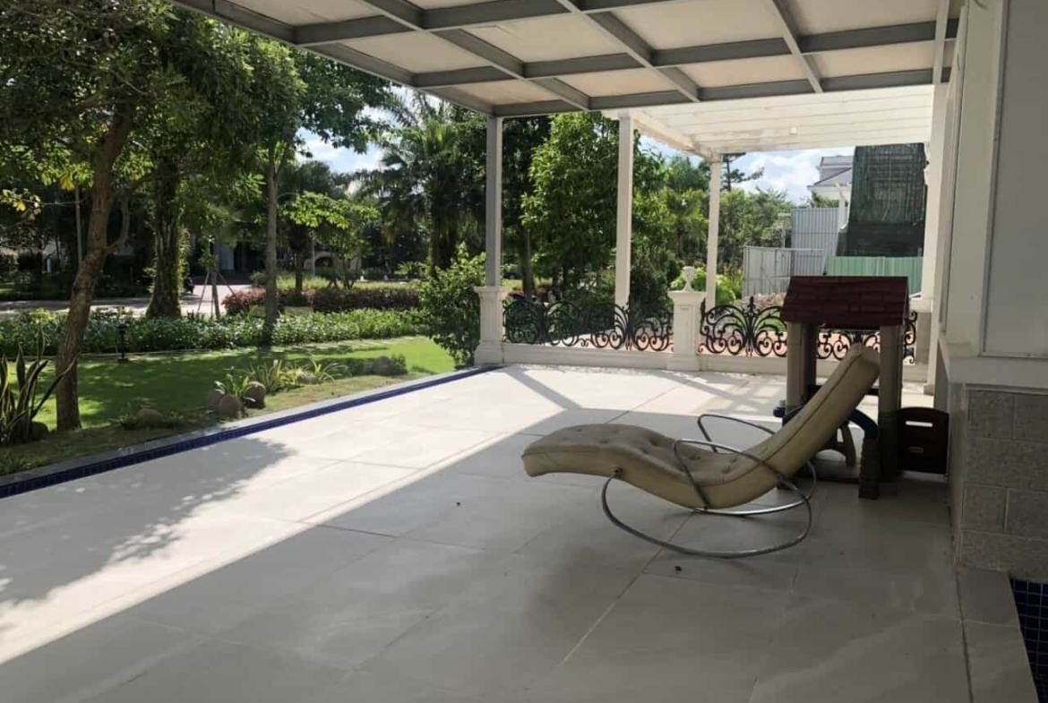 For Rent Luxurious Chateau Villa Phu My Hung